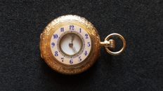 Bull's eye pocket watch
