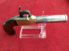 French 17mm Navy Officer's pocket pistol ca. 1825