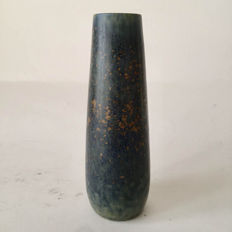 Carl-Harry Stålhane for Rörstrand -  A slender stoneware vase with exceptional glaze