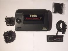 Sega Master System 2, complete with 3 games