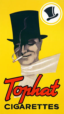 Anonymus - Tophat Cigarettes - c. 1945
