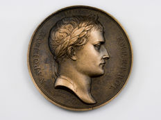 France - 'Arc de triomphe du Carrousel à la Grande Armée' 1806  medal by Andrieu and Denon – Bronze