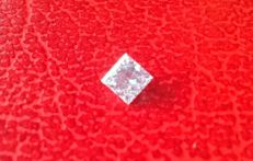 Diamond 0.21 carat, VS2, color D