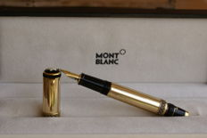 "Very rare 18K retractable Montblanc limited edition 4810 ""Patrons of Art"" Friedrich II fountain pen."