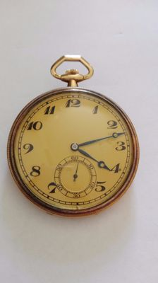 IWC men's pocket watch – 1890