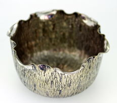 Antique silver plate bowl, ca.1890
