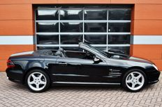 Mercedes-Benz - SL500 AMG-look - 2002 - seulement 10,283 km!