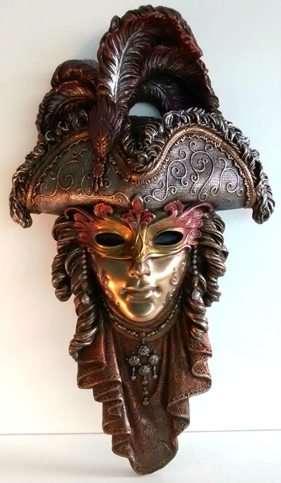 Venice Deco Mask - Pirate