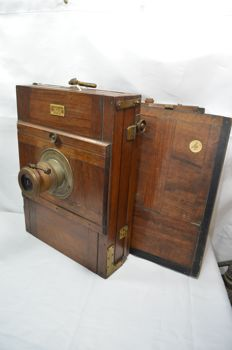 Special and beautiful wooden camera