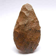 Palaeolithic biface made of Jasper - 159 mm