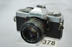 Minolta XG-1 camera with Rokkor 50mm 1.7 lens