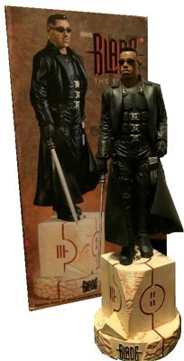 Blade - Factory X - statue - 26cm tall - Wesley Snipes as Blade