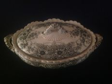 Beautiful soup tureen Losol ware - 1832 Stirling date X2C2
