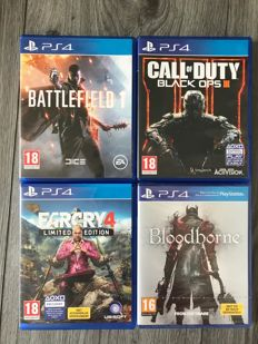 Ps4 games 4 pieces like Battlefield 1