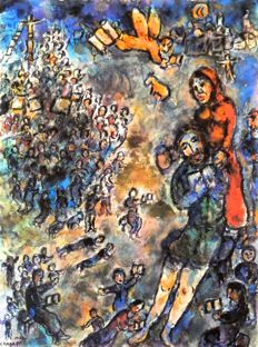 Marc Chagall (after) - Engel