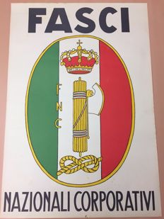 Original poster of the National Corporate Fascist Party