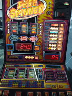 Free Spinner by BARCREST - Euro slot machine - 20th century