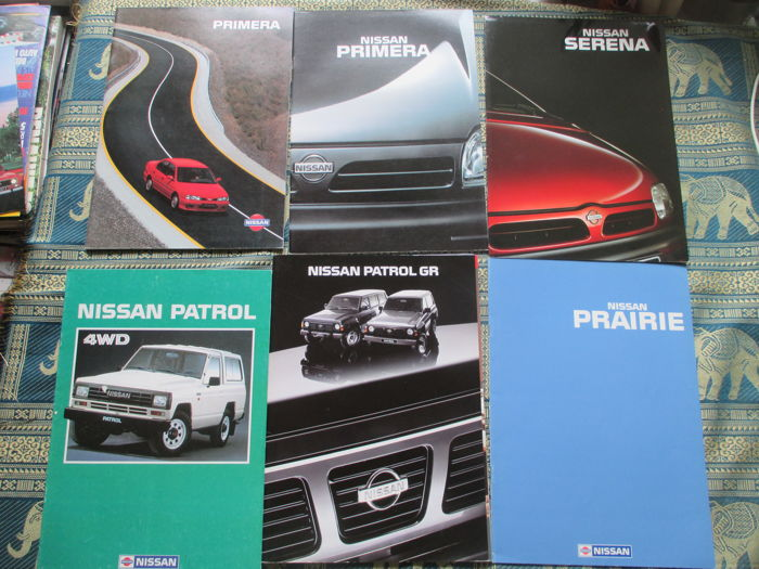 car brochures nissan datsun 1979 1991 31x catawiki. Black Bedroom Furniture Sets. Home Design Ideas