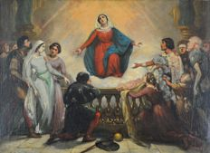 Joseph-Désiré Court (1797-1865) Mary healing the sick.
