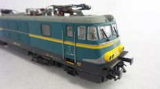 Heljan H0 - 1505 - electric locomotive Series 15 of the NMBS yellow/blue