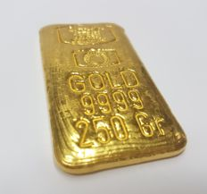 Gold ingot of 250 grams - E.me.Ko