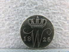 The Netherlands – 5 cents 1825B, Willem I – silver