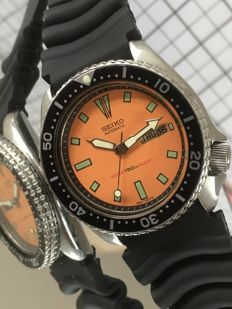 Seiko — Diver - 17 Jewels — Cal. 6309A (1987) — Men