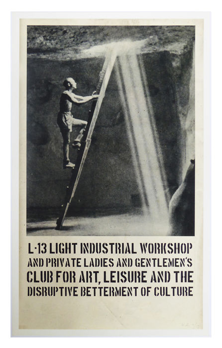 Harry Adams - Into the Light L-13 Propaganda Poster