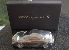 Porsche 718 Cayman S - paperweight massive model