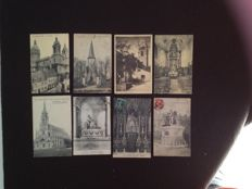 lot of about 620 postcards of churches and monuments and various France - early 20th century to the 1960s various France