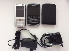 Smartphone BlackBerry Bold 9700 and Nokia N73