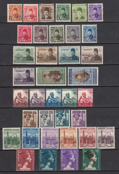 Egypt 1950/1969 – collection of stamps in stock book.