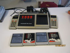 Complete audio sonic Game Computer incl 4 games and 2 controllers