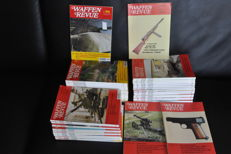 Weapons review, magazine  1990s, no. 76-115 complete, plus 2000/2001 7 numbers