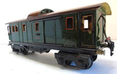 Spoor 1- Märklin -1889/1 - Four-axle baggage car with 6 opening (sliding) doors and interior lighting (1929-1937)