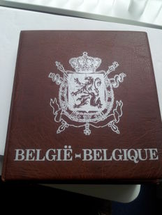 Belgium - 1 cent up to and including 50 cents 1745/1996 (250 pieces) - in album, including flawed piece