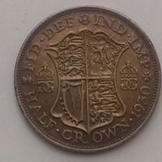 United Kingdom - ½ Crown 1930 George V - silver