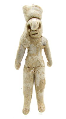 Miniature Indus Valley Terracotta Fertility Amulet / Figure - 65x25 mm
