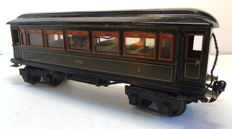 Spoor 1 - Märklin - 1888/1 - Four-axle passenger carriage, 2nd and 3rd class, with interior and interior lighting (approx. 1930)