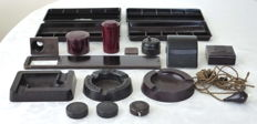 Collection of 18 parts bakelite