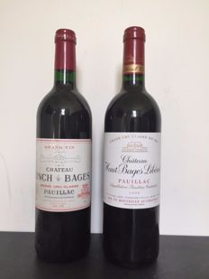 1997 Chateau Lynch-Bages, Pauillac & 1999 Chateau Haut-Bages Liberal, Pauillac - 2 bottles (75cl) total