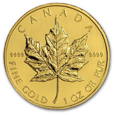 Canada - 50 Dollars 2011 'Maple Leaf' - 1 oz goud
