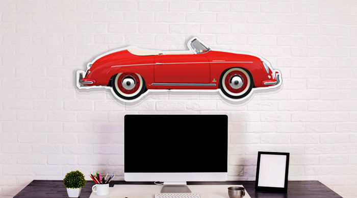Halmo Collection Porsche 356 Speedster plexiglass model