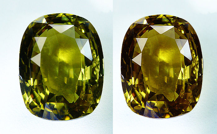 Alexandrite - Colour change - 8.25 ct