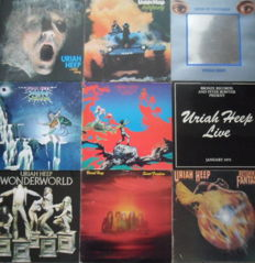 Uriah Heep  : Their Fantastic First Nine LP Albums