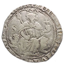 Kingdom of Naples – Carlino Alfonso of Aragon – Silver