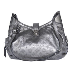 Louis Vuitton Argent Monogram Mahina Xs