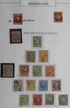 Indonesia, Dutch East Indies and New Guinea – Collection in Victoria and Davo album.