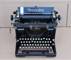 Antique Mercedes typewriter, Germany, around 1920