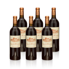 2014 Château Grand Pontet, Saint-Emillion Grand cru classé -  6 bottles (75cl)